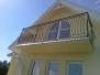 Balustrady balkonowe schodowe metalowe stalowe