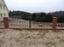 Ogrodzenia bramy furtki metalowe stalowe
