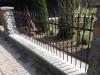 Ogrodzenia metalowe stalowe przęsło